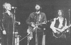 Delaney and Bonnie with Eric Clapton at the Royal Albert Hall, 1969