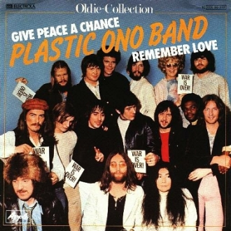 Picture sleeve for Give Peace A Chance (Plastic Ono  Band)