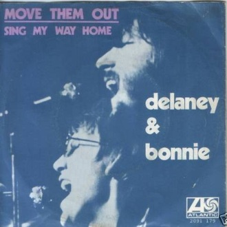Picture sleeve for Move 'Em Out