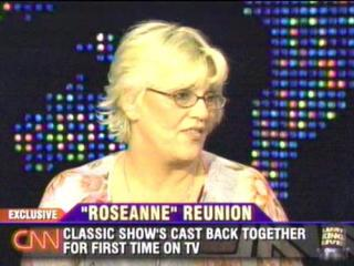 Bonnie on the Roseanne reunion, Larry King Live, CNN, 2005