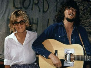 Delaney and Bonnie on the set of Vanishing Point