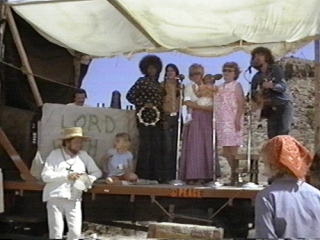 Delaney & Bonnie, joined by Mamo (Delaney's Mum) and daughter Bekka, in Vanishing Point
