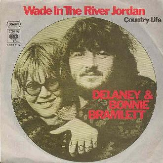 Picture sleeve for Wade In The River Of Jordan (German)