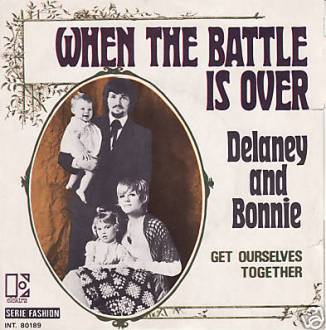 Picture sleeve for When The Battle Is Over